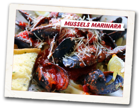 mussels marinara photo